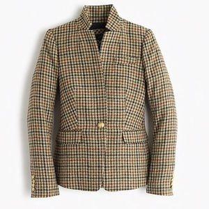 J.Crew Regent Tweed Blazer 6 Nwot